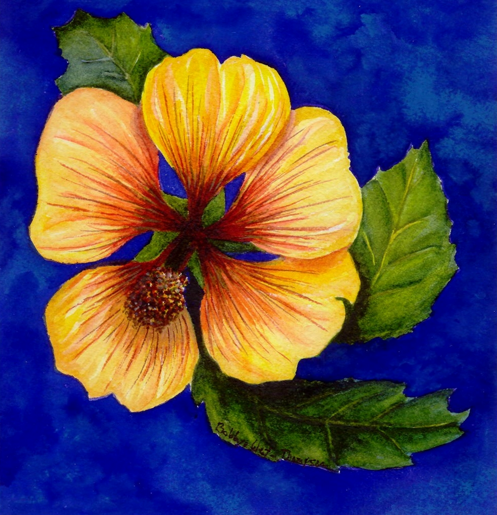 Yellow Flower 2 - Watercolor.jpg