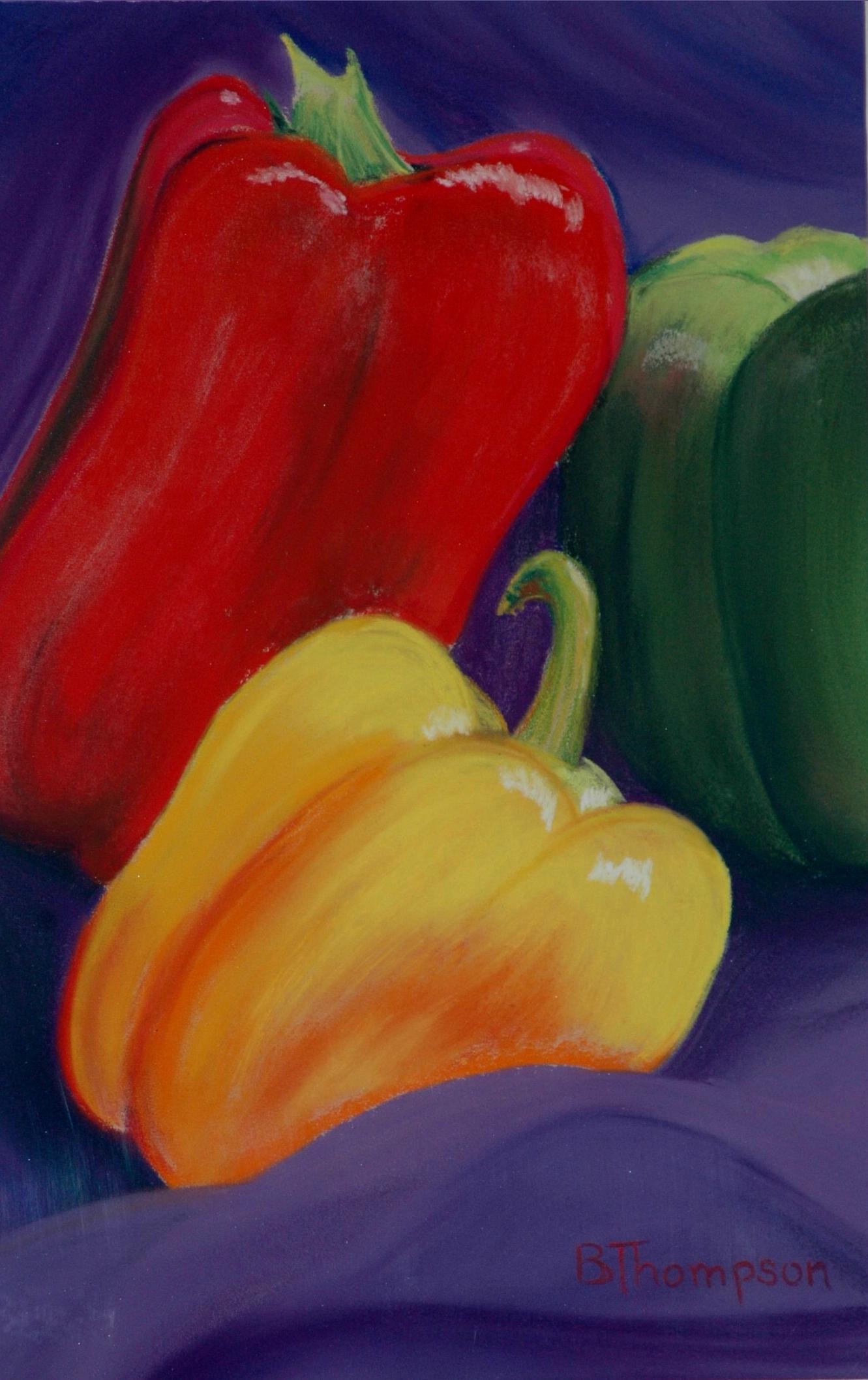 Bell Peppers #4 - Pastel.JPG