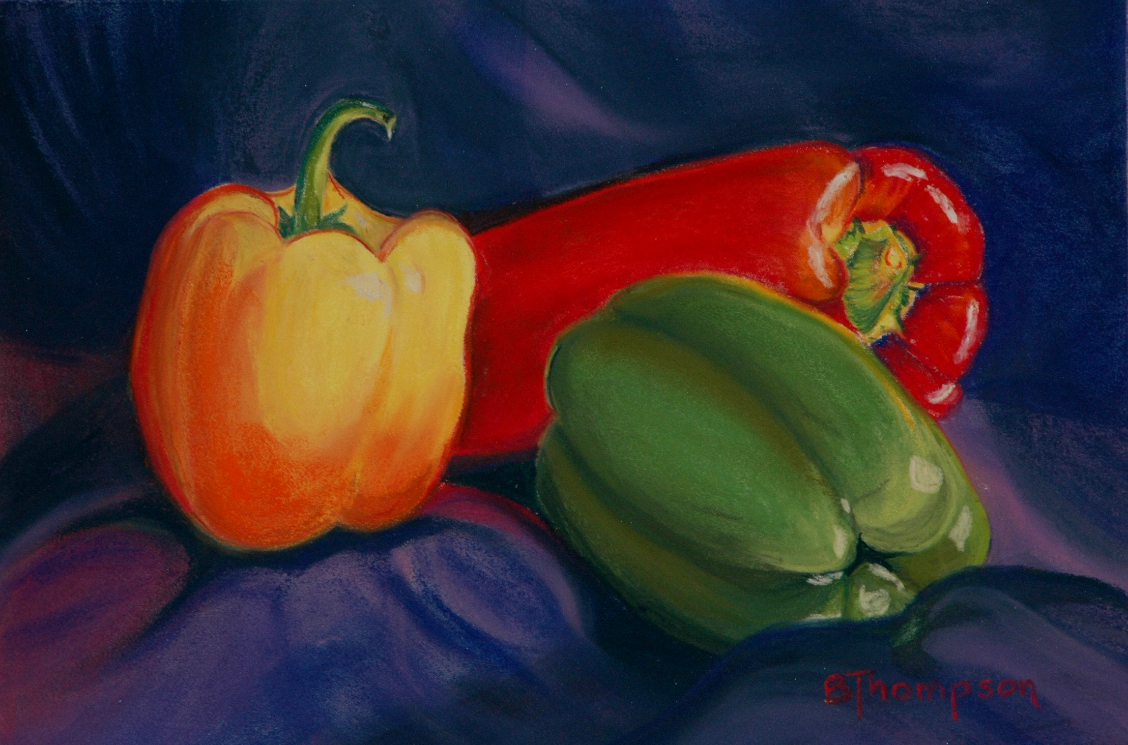Bell Peppers - Pastel   SOLD.JPG