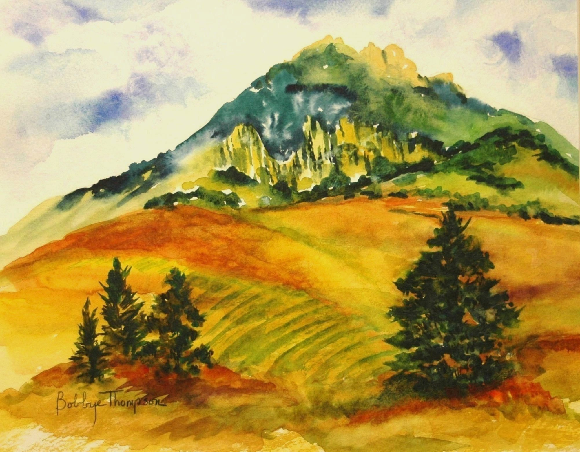 Bishop's Peak en Plein Air.JPG