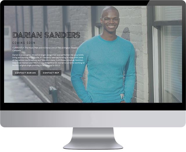 I don't think you all are ready for this one! Check out the new DarianSanders.com - COMING SOON! It's going to be dope 💥