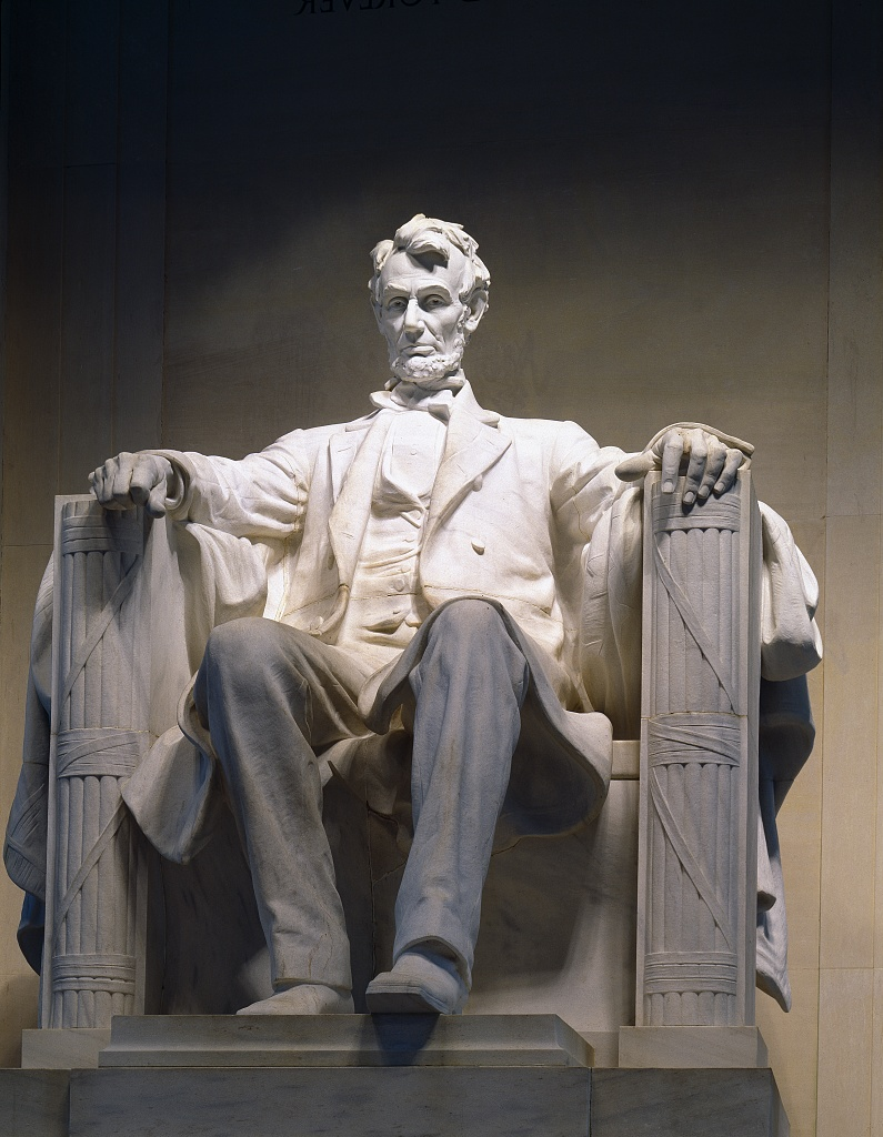 Lincoln Memoria  l . Photo Courtesy Library of Congress.