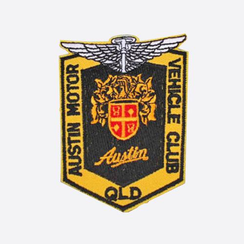 Club Logo Cloth Patch $3