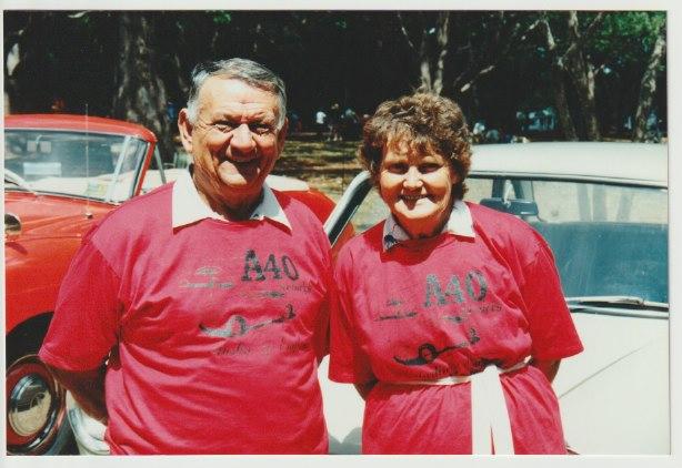 Warren and Nancy Heaton, taken in Toowoomba in about 1992