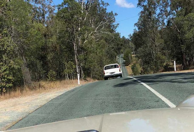 From one 1800 to another; the road to Tamborine.