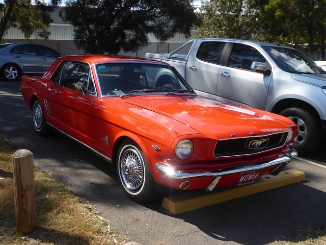 WOW! - David James' immaculate 1966 Mustang.