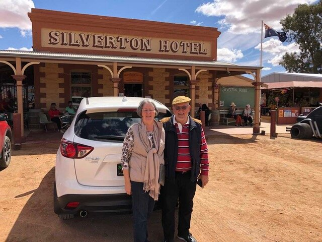 Your Club Editor and Club President enjoying the sights of Silverton