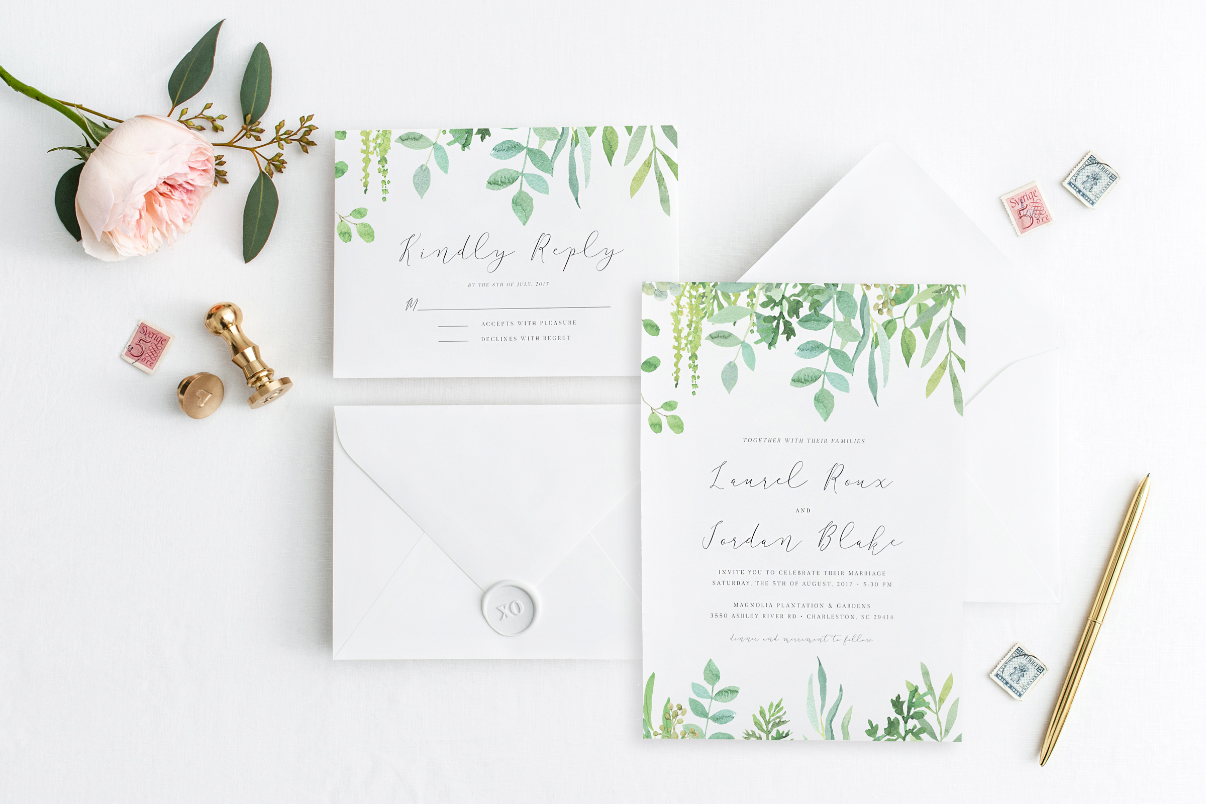Whimsical Botanicals + Eucalyptus Greens