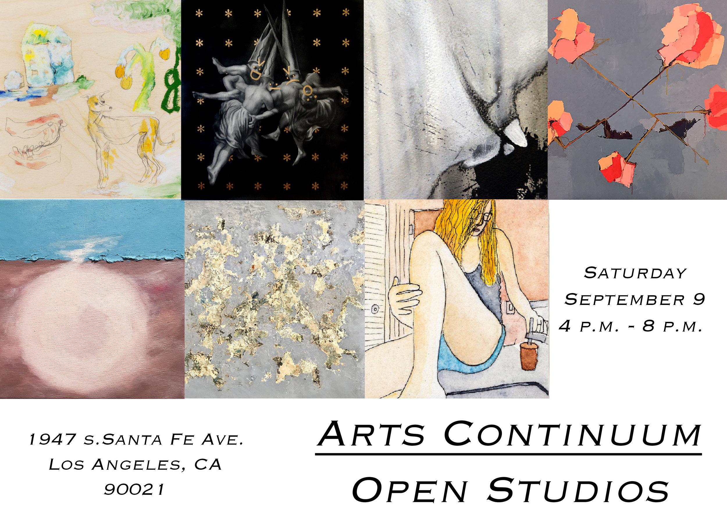 Arts Continuum Open Studios , Arts Continuum, Los Angeles, September 2017