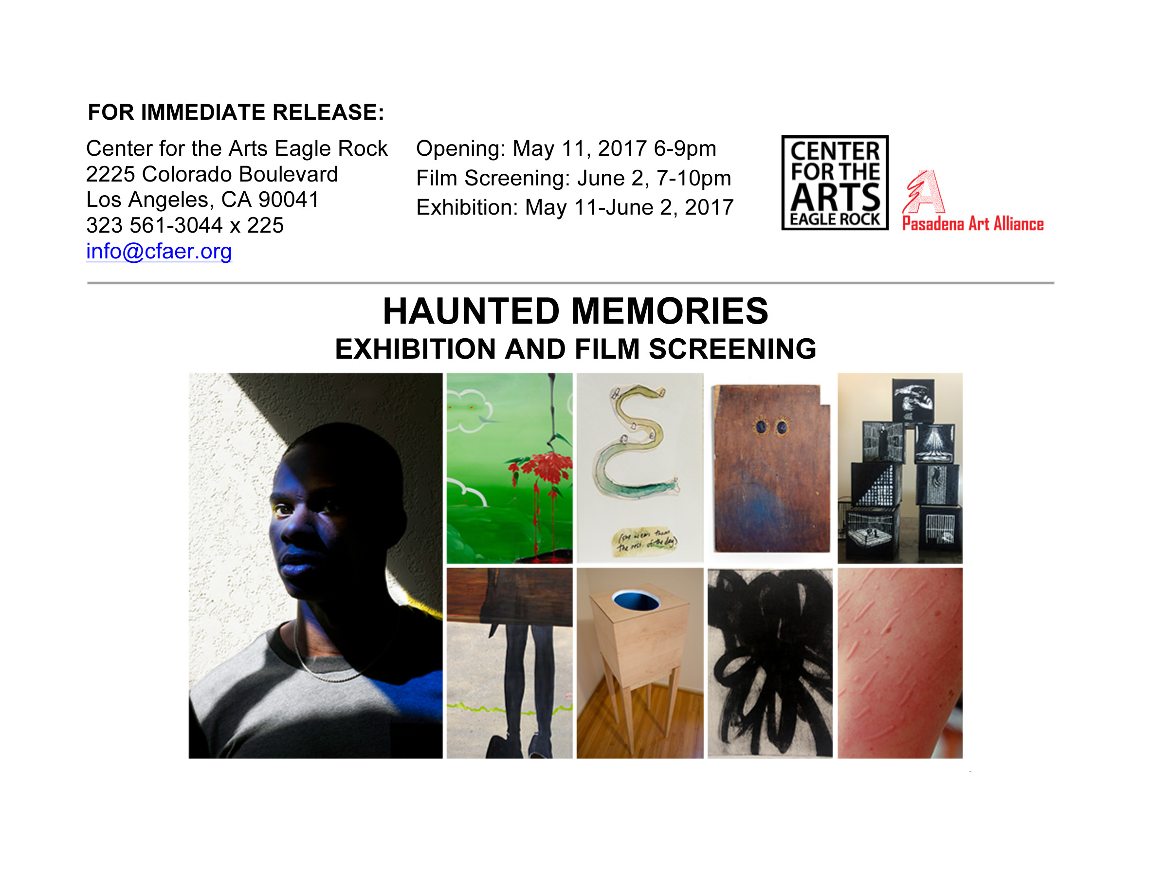 Haunted Memories , Center for the Arts Eagle Rock, Los Angeles, May 2017