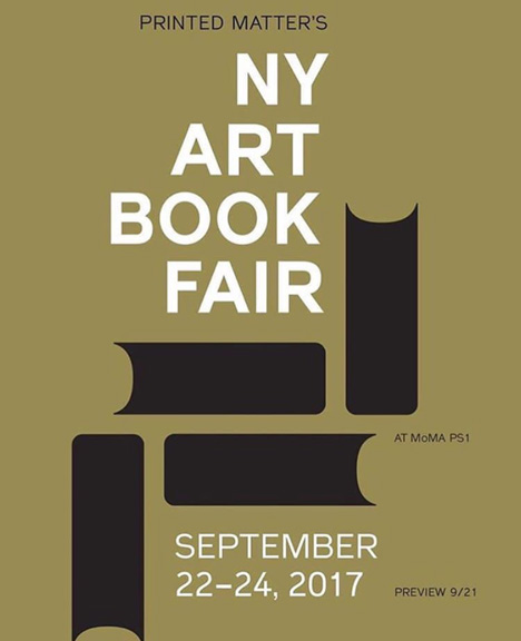NY Art Book Fair 2017 with Vacancy Projects,  MoMA PS1, New York, September 2017