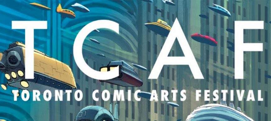 Toronto Comic Arts Festival,  Toronto Reference Library, Toronto, May 2019