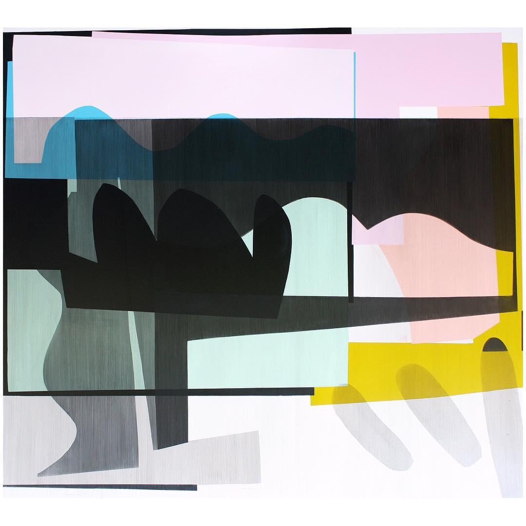 Simon Degroot,Fantasticaprice 1, 2018,oil on canvas, 167 x 183cm.