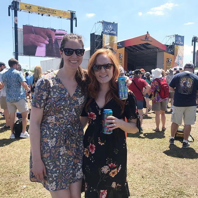 Livin' the Fest life 🎷#JazzFest50
