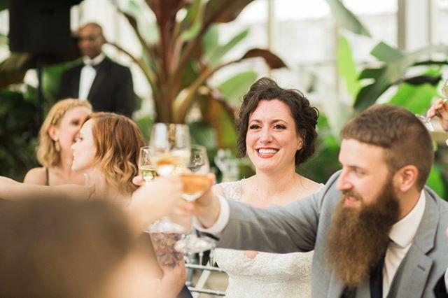 Cheers! It's FINALLY the weekend. // #tgif #fridayvibes #weddingreception #chicagoweddings #chicagoweddingphotographer #weddingtoasts #destinationweddingphotographer #travelingweddingphotographer #midwestweddingphotographer