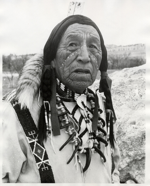 """"""" The Ancestors hold the wisdom that informs our beliefs and values. Learn that wisdom and you will understand who I am in this modern world."""" Taté Wašté Wíŋyaŋ    Photo of Heȟáka Sápa"""
