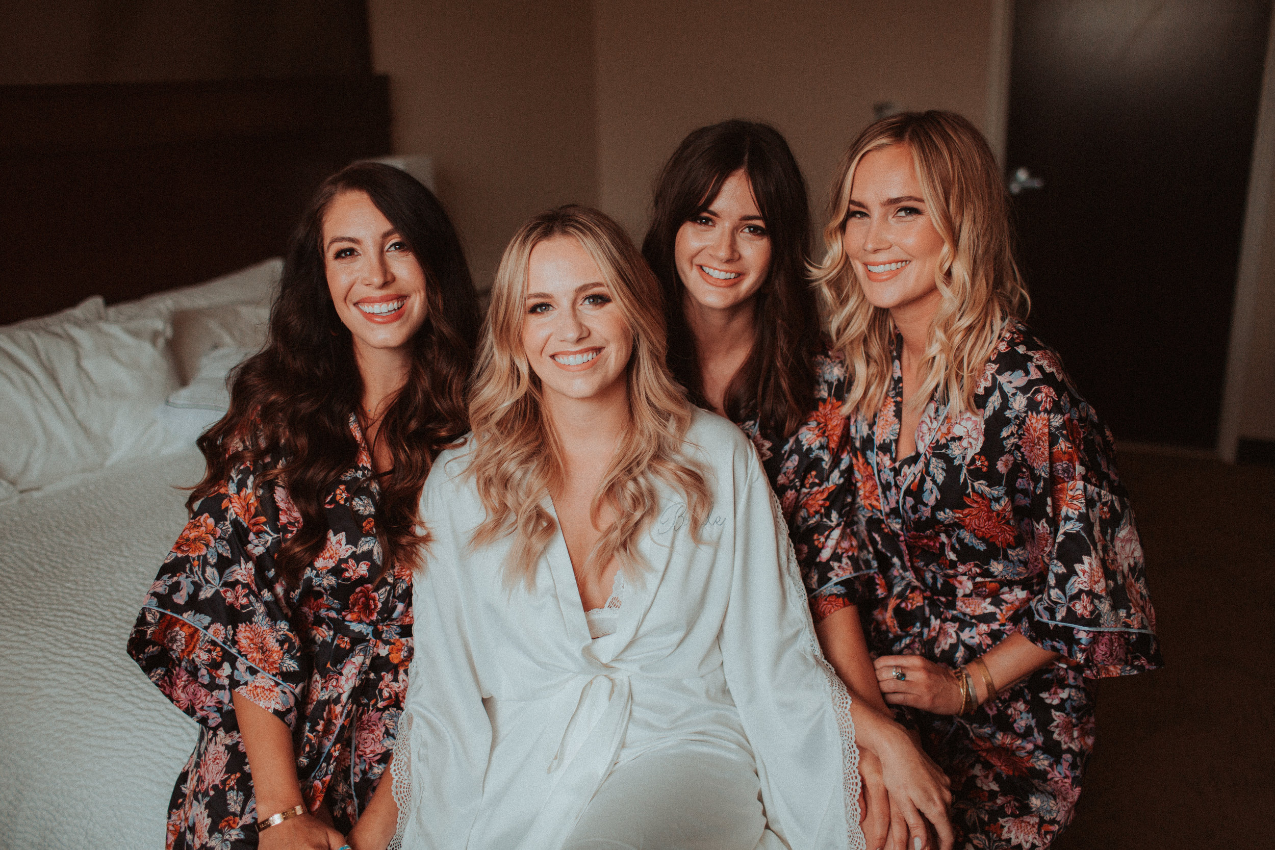 Wedding Party - hair + makeup .............................. $185hair ................................................. $95makeup........................................... $115airbrush makeup…………………… +$25hair + makeup trial……………………$200* false lash application included in the above mentioned pricing