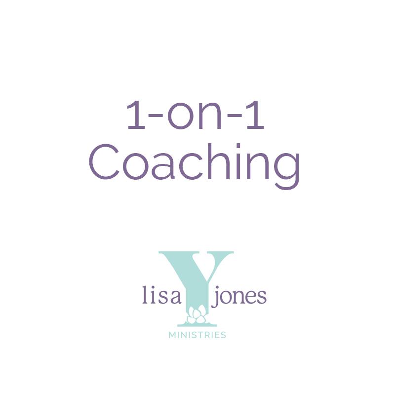 1-on-1 Coaching Lisa Y Jones