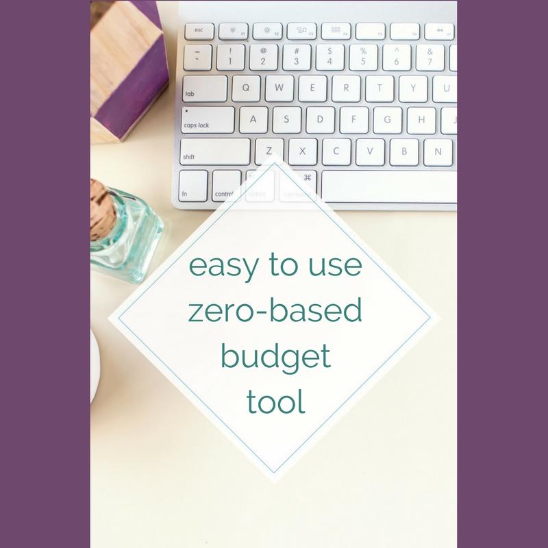 Easy To Use Zero-Based Budget Tool