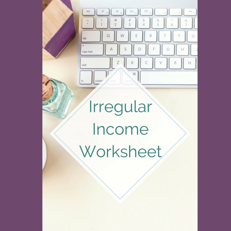 Irregular Income Worksheet