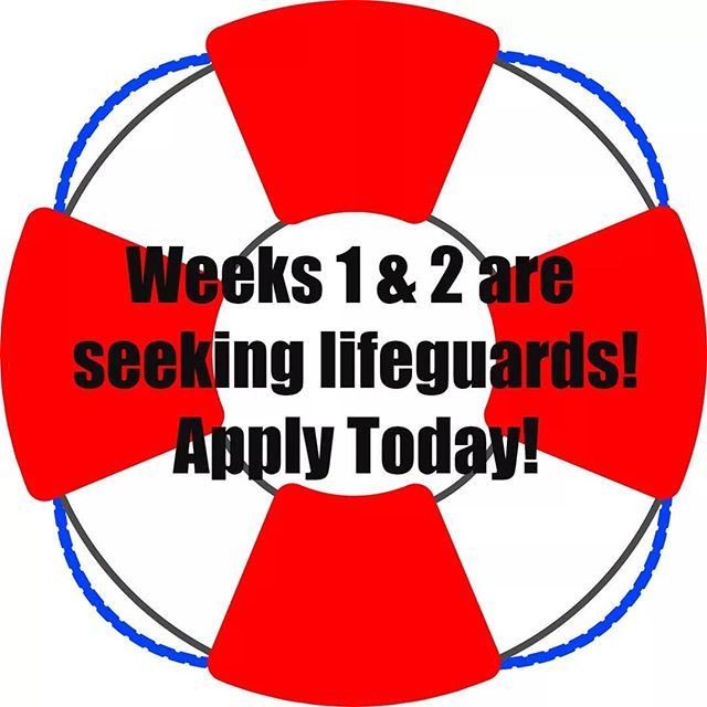 "ATTENTION: Weeks 1 and 2 are still seeking lifeguards. If you are not currently certified, the Hye Camp Committee will reimburse you for your certification costs. Email us at info@hyecamp.com for more info and apply at www.hyecamp.com/staff-application using the ""Apply as a Nurse or Lifeguard"" link."