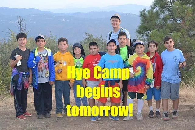 Week 1 of Hye Camp starts tomorrow! We look forward to welcoming the first campers and staff members of Hye Camp 2019 and experiencing another fantastic year of camp!