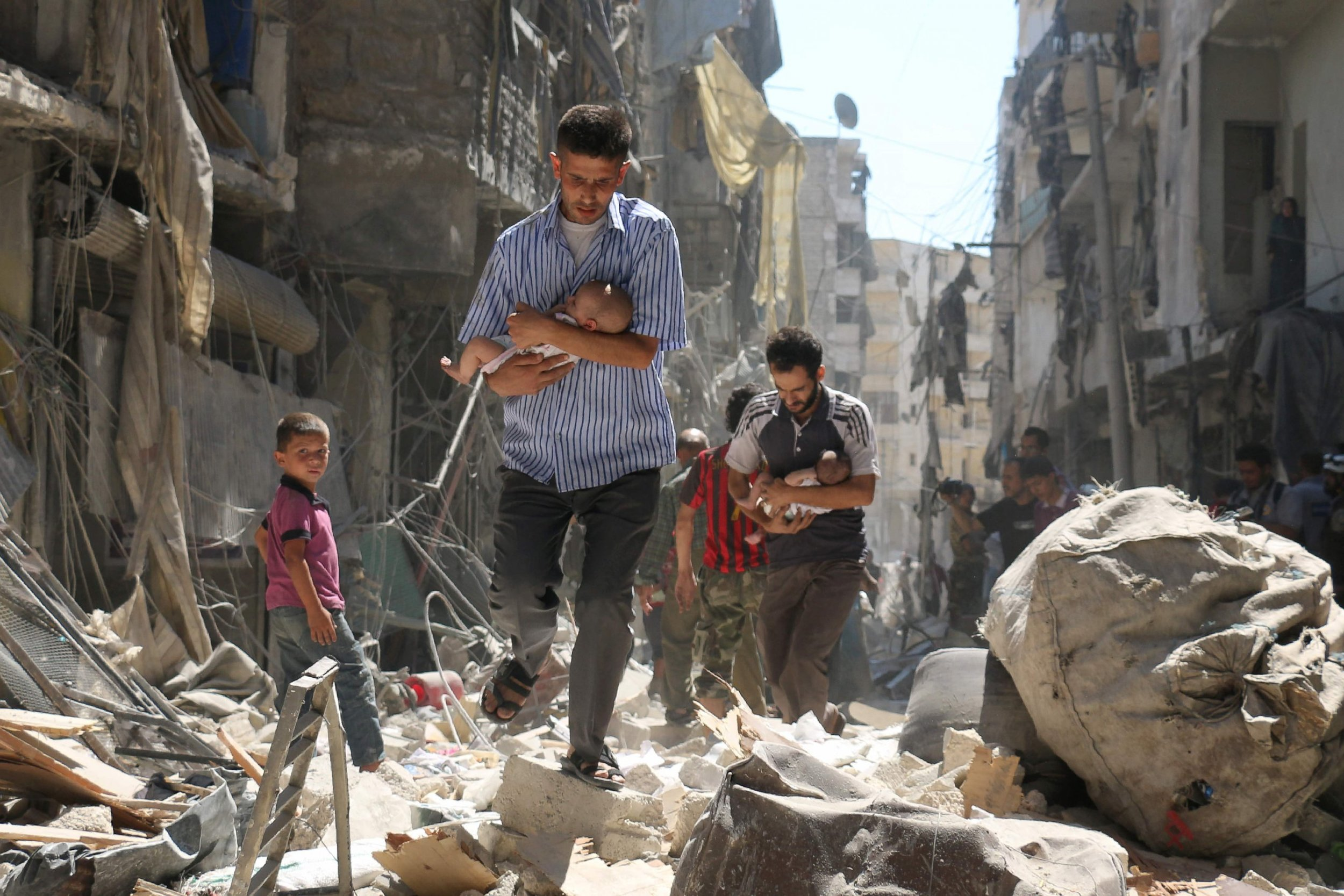 Aleppo, Syria. Photo courtesy of ABC News.