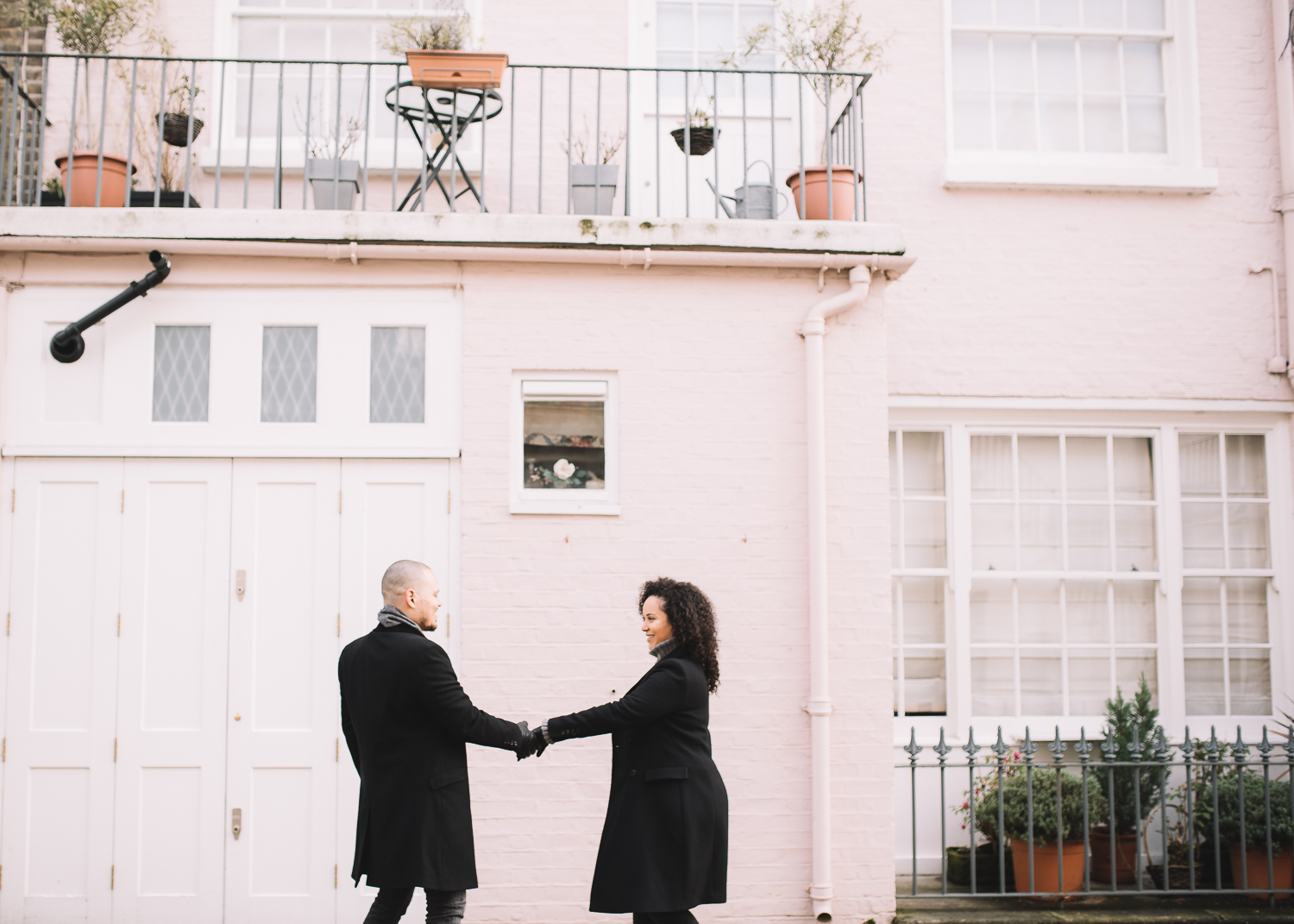 Holland Park engagement shoot, Lucie Watson Photography, London engagement photos