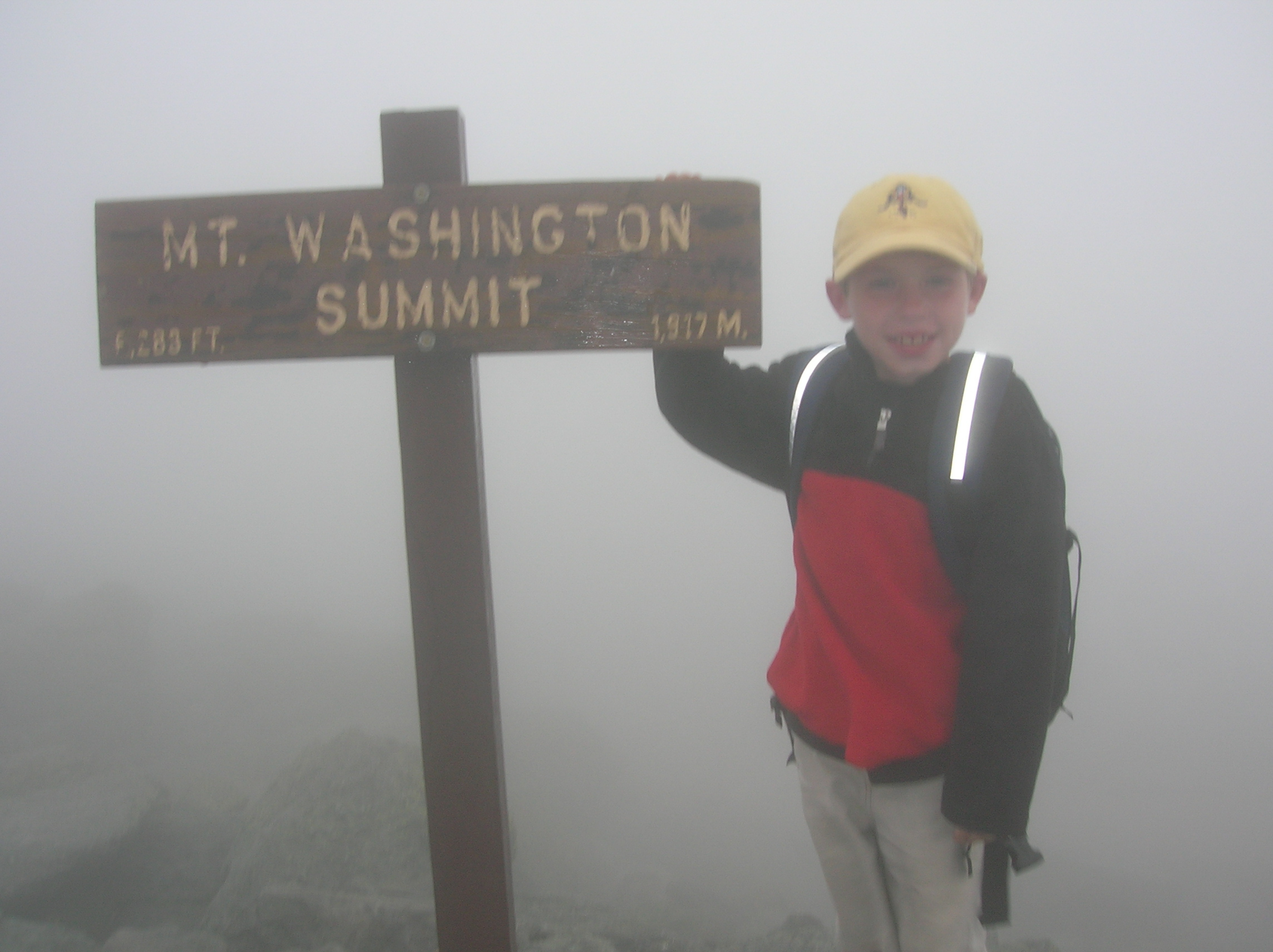 Mt. Washington - August 22, 2006