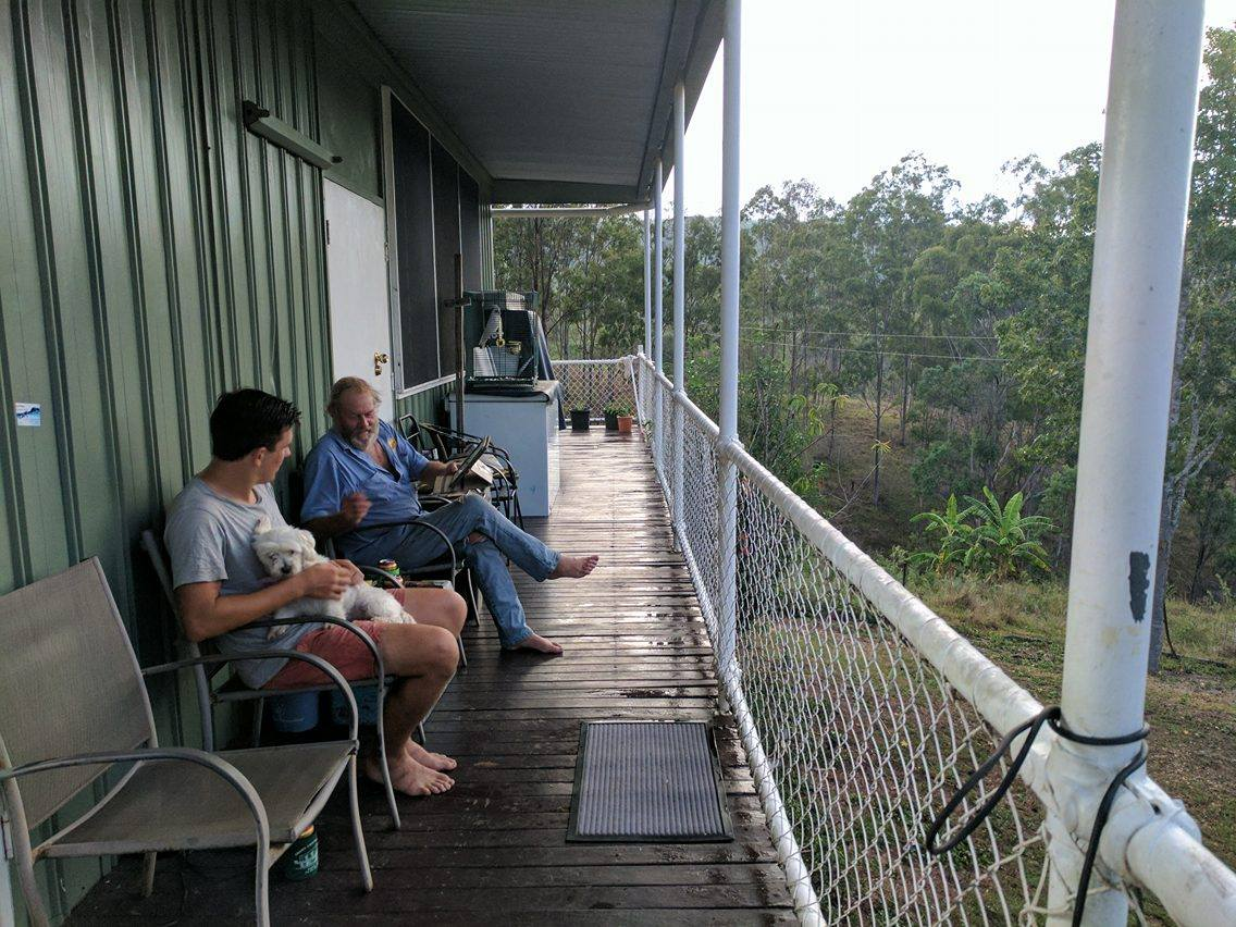 Mt Perry Verandah, Glen & the landscape
