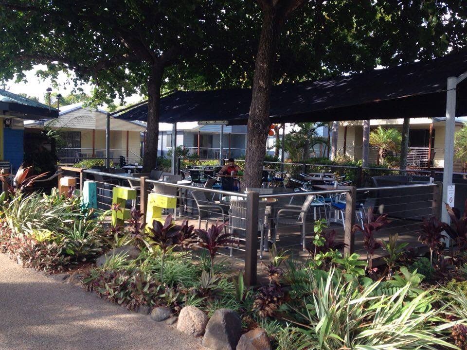 Serenity Cove Cafe, a nodal point of the public realm