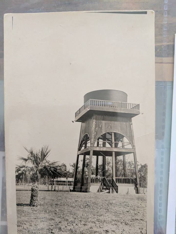 The original water tower, a great public building and ammenity. Water, bandstand and climbing tour.