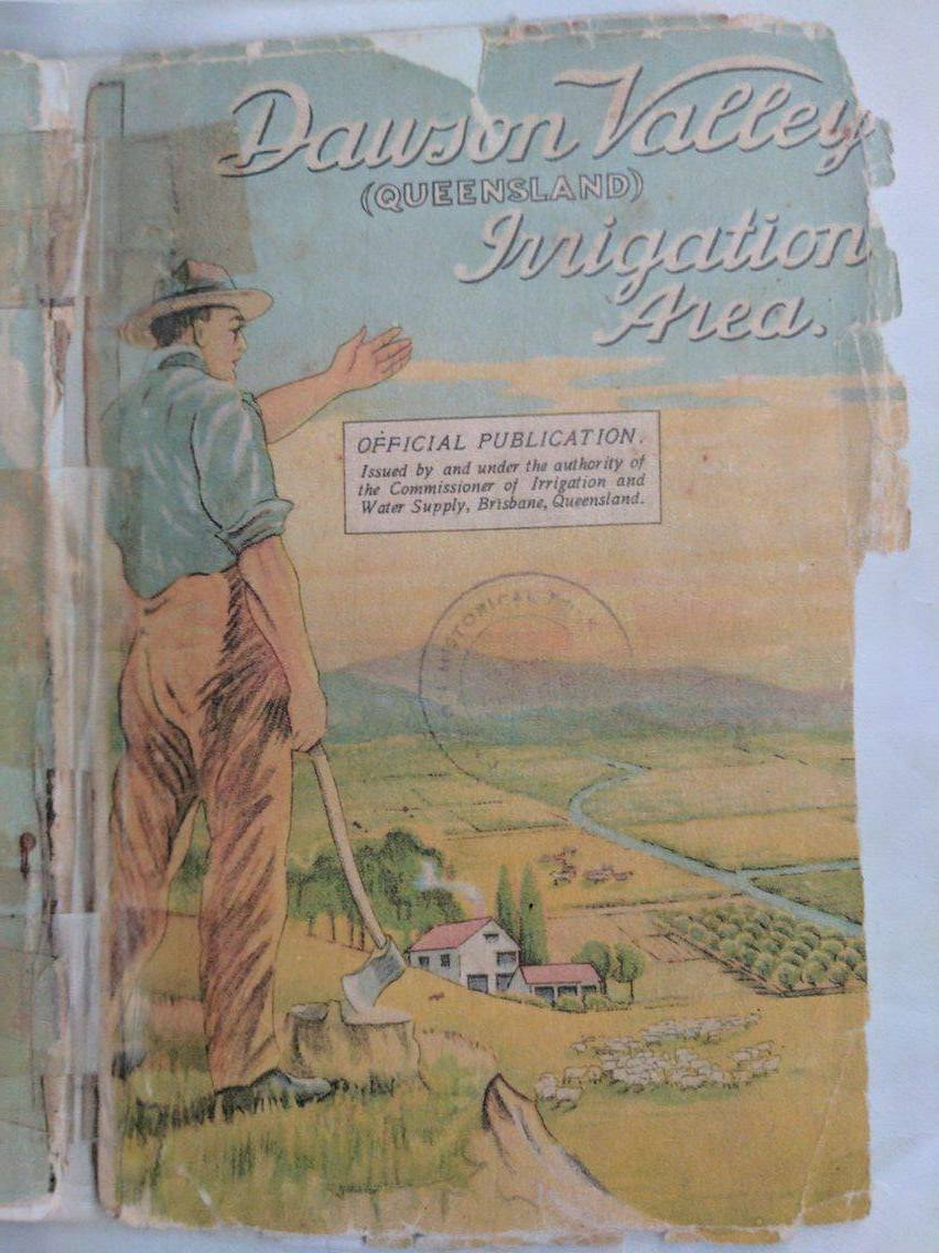 'The Little Green Book' was a promotional brochure outlining the intent of the scheme, commissioner restrictions, housing and farming.