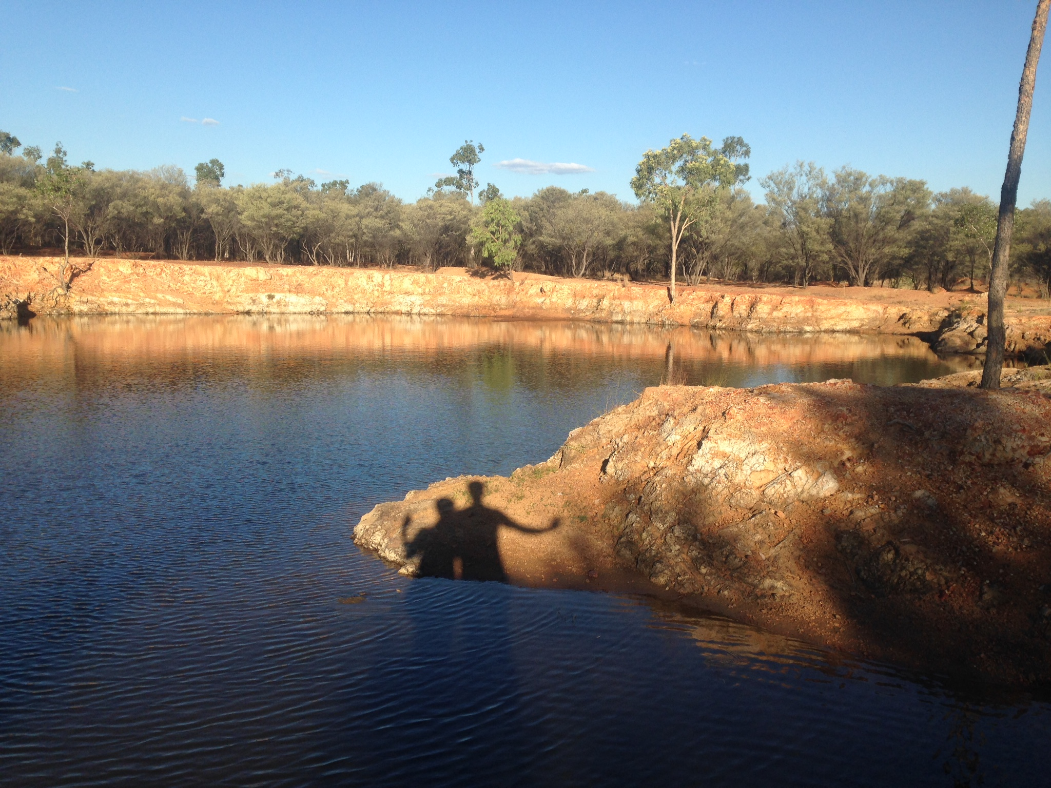 The Rock Pools, Charleville. An oasis amongst the dry land.