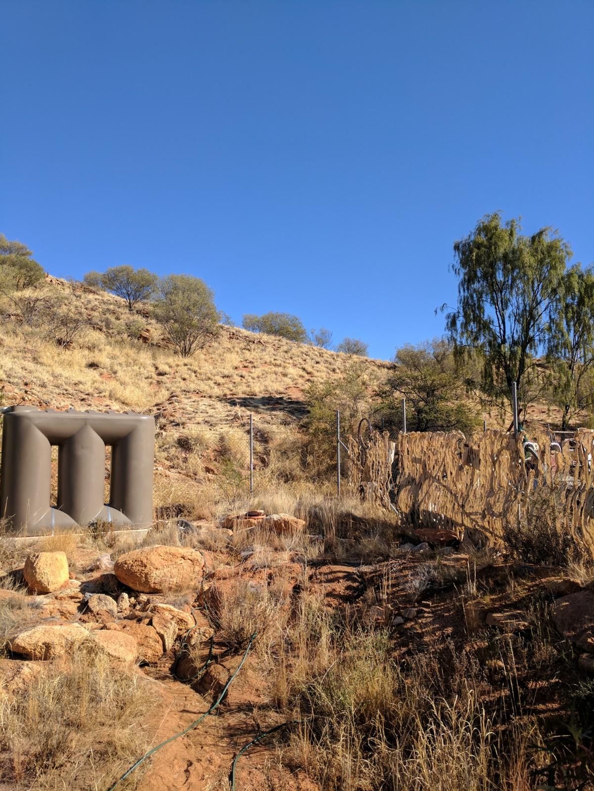 Storm water storage and retention pits for water run off