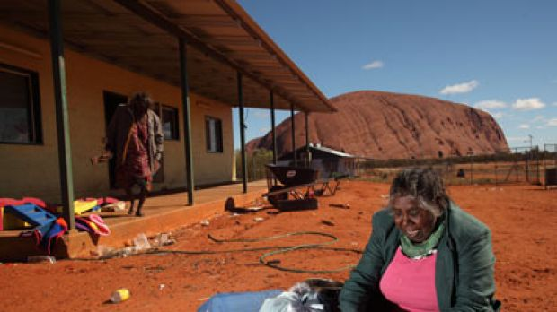 Mutitjulu Community is only about a kilometre from Uluru.