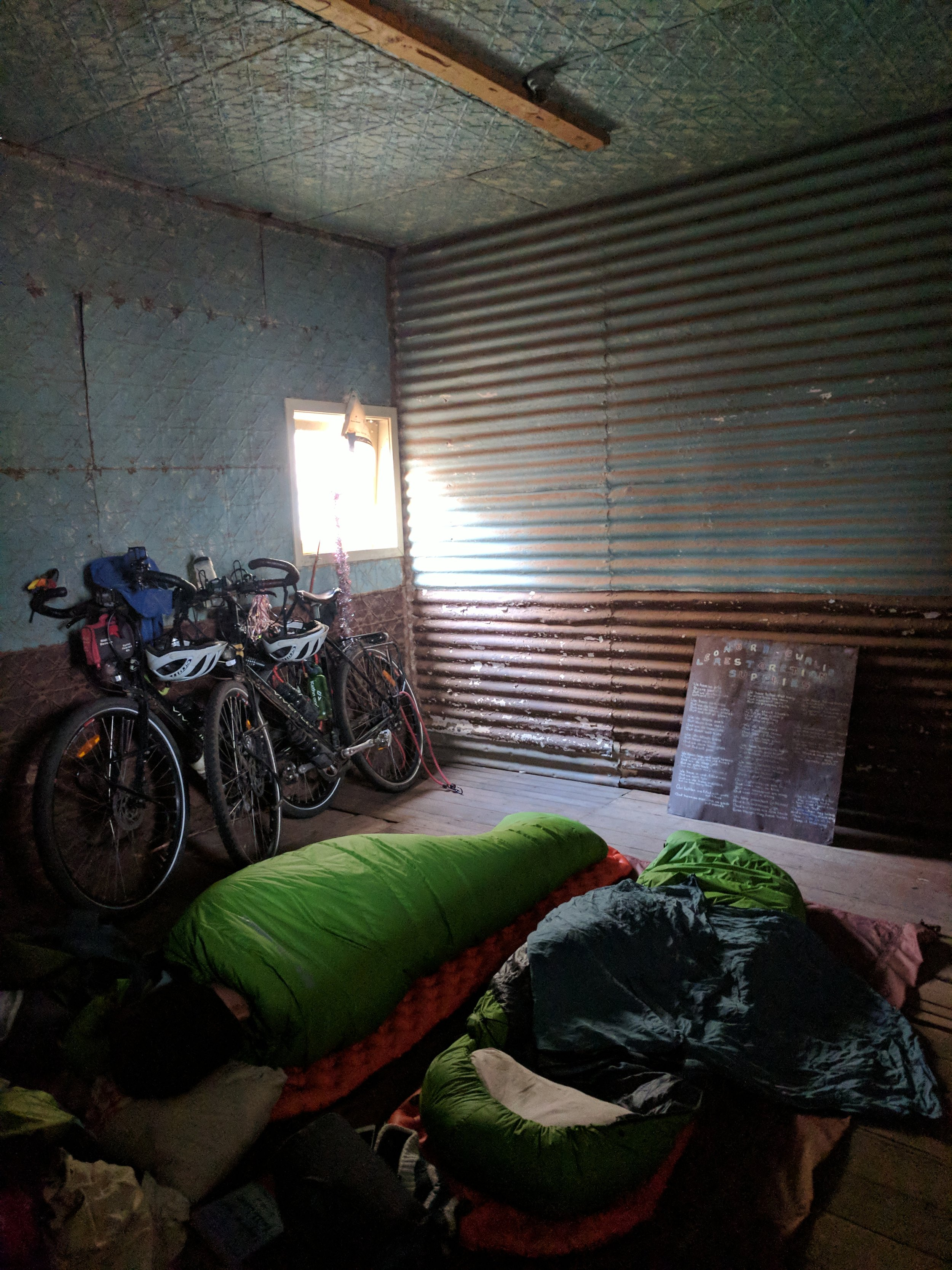 Abandoned, ghost town anyone? Rooms going cheap