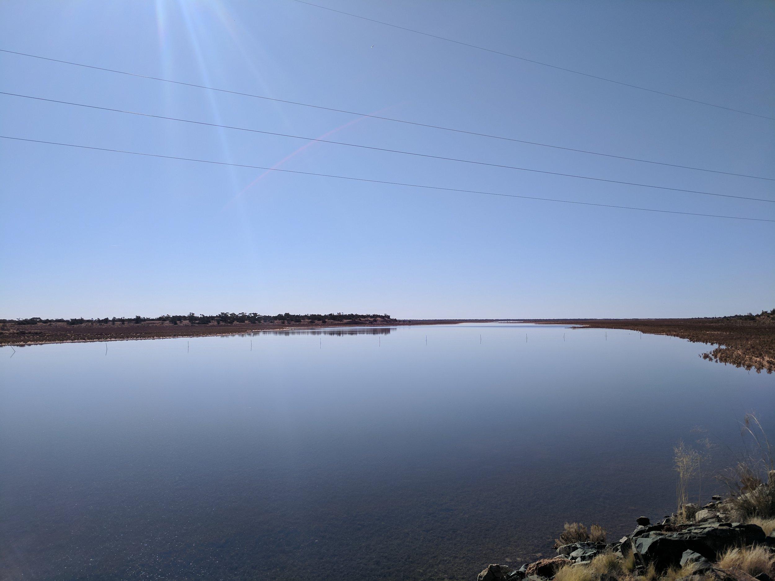 Salty Lake Miranda