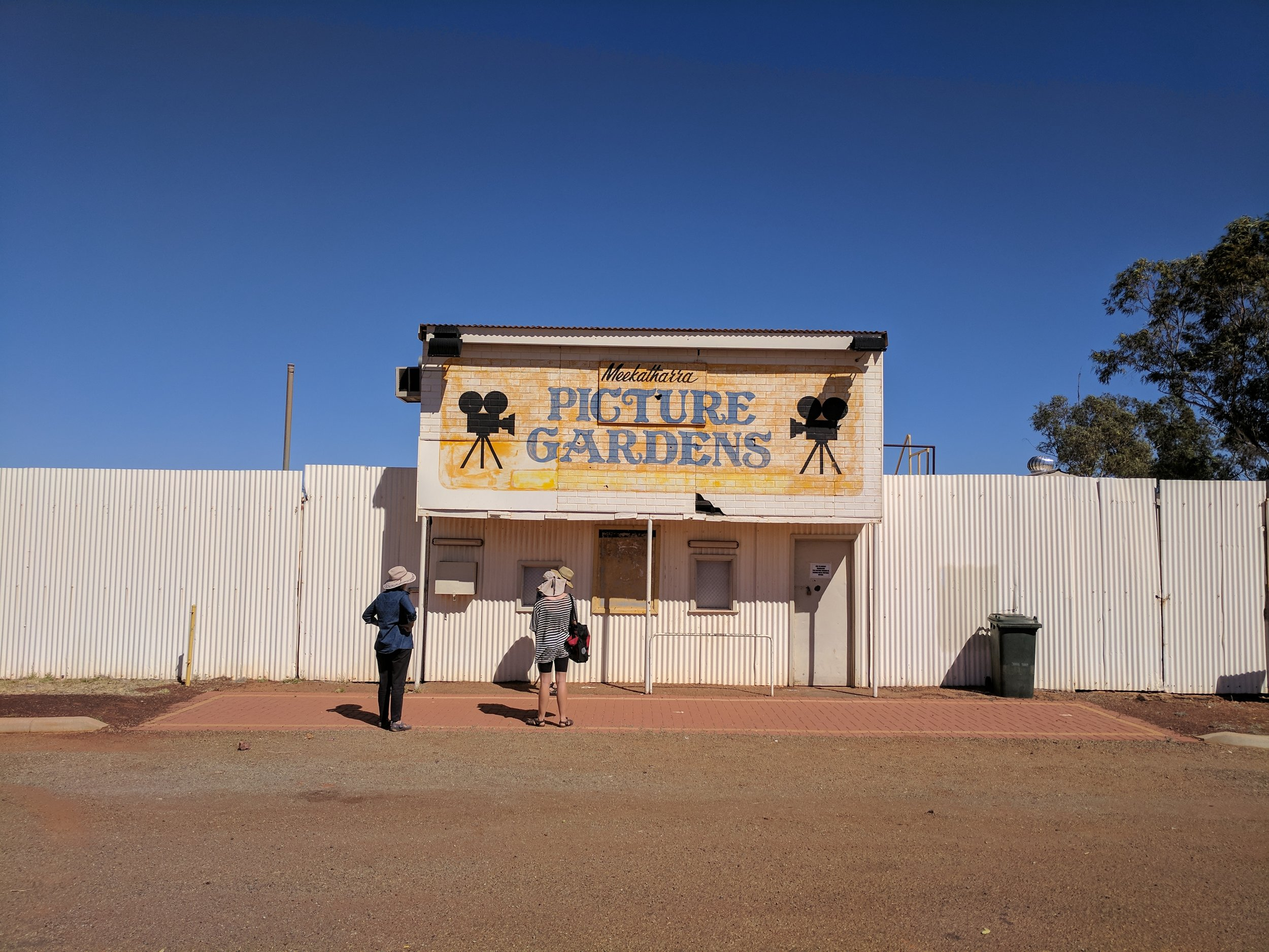 The Meekatharra picture gardens are emblematic of under-used infrastructure in country towns.