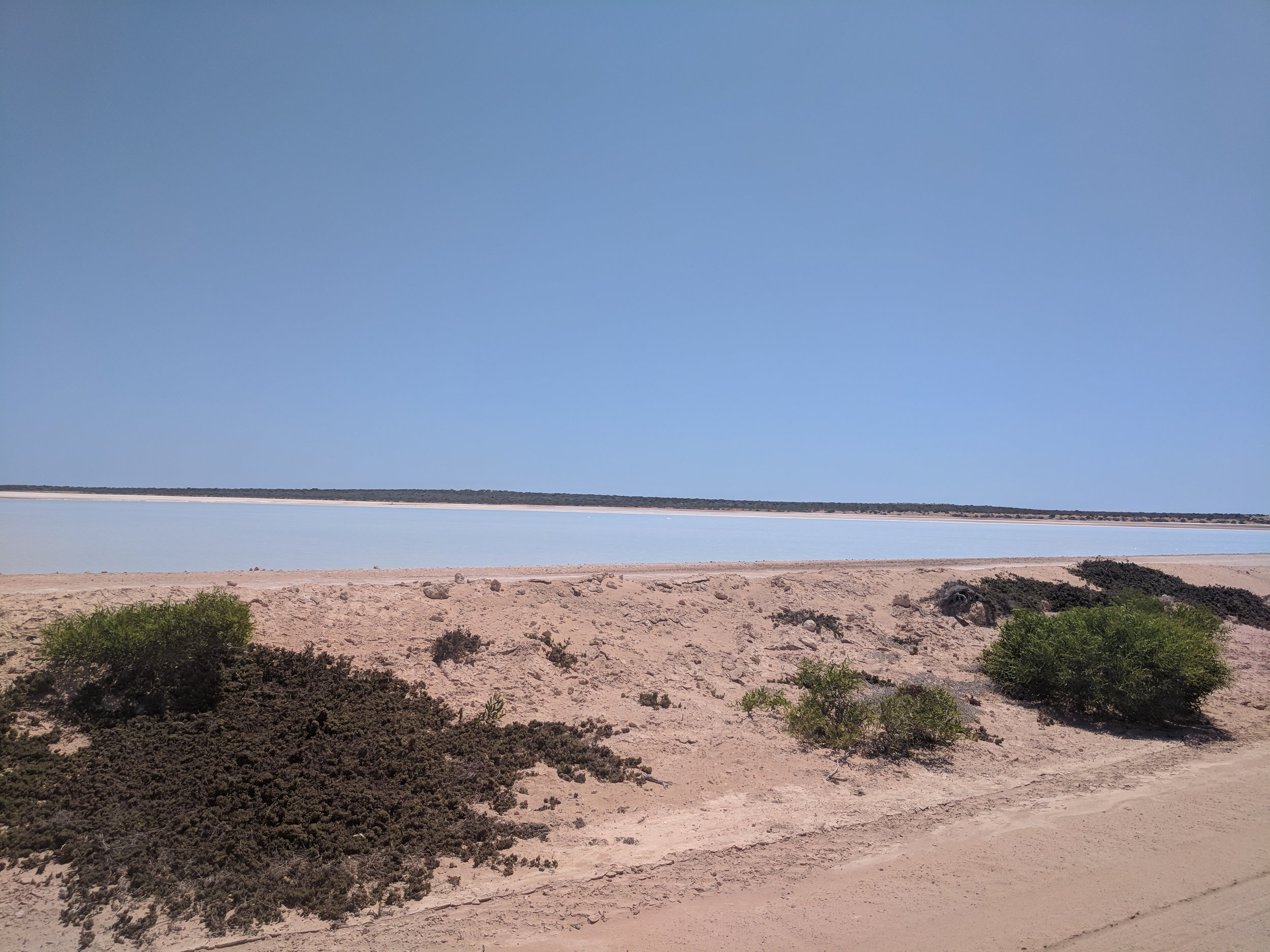 The salt ponds of Useless Loop, stay tuned