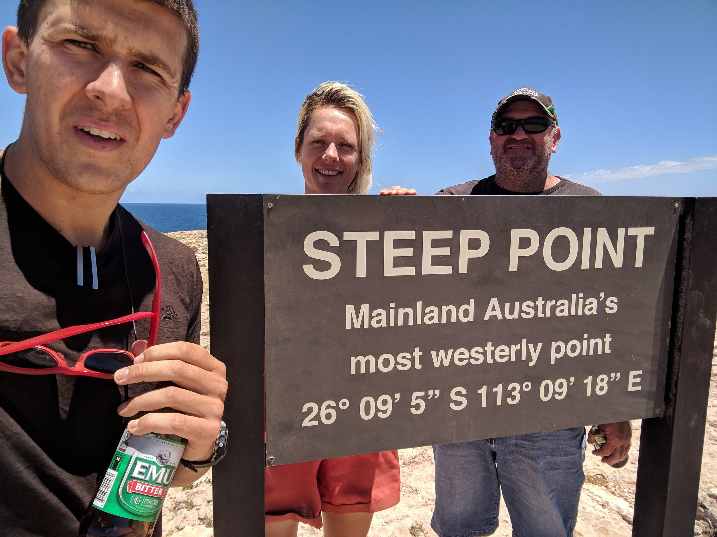 Steep Point thanks to Dave