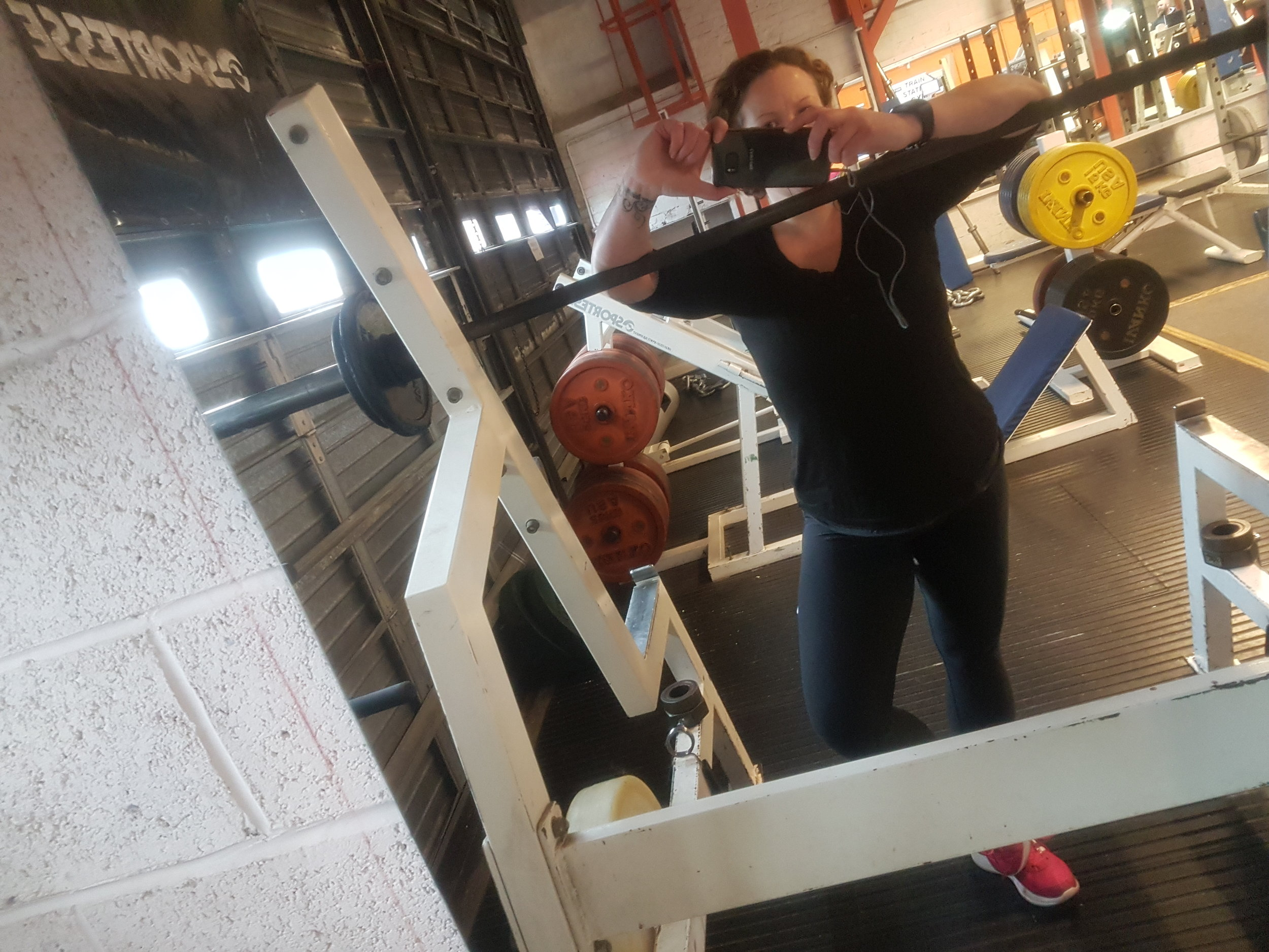 this post is dedicated with thanks to Mark and Ali and all at the Train Station Gym Frome