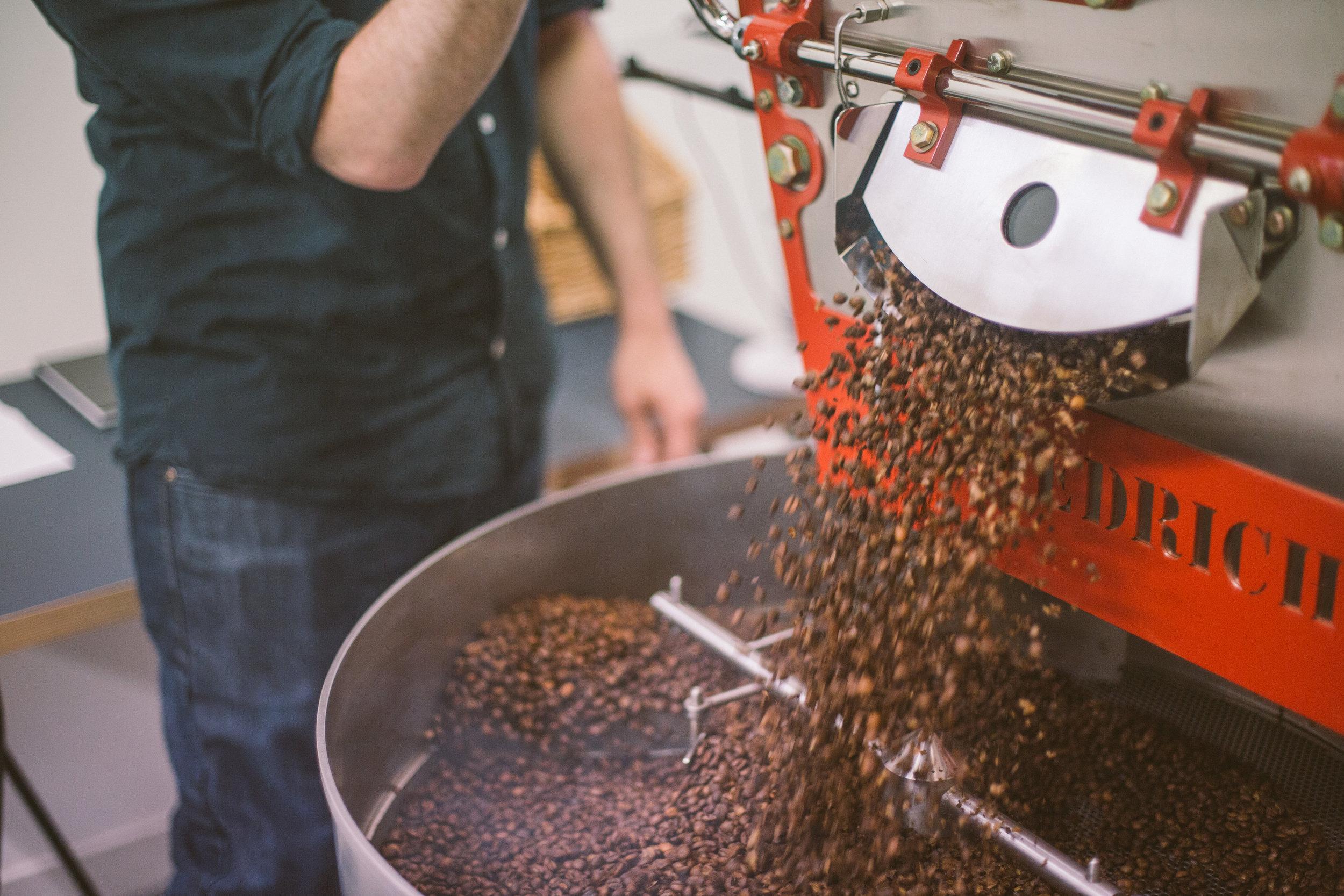 SEASONAL COFFEE - ROASTED IN EDINBURGH
