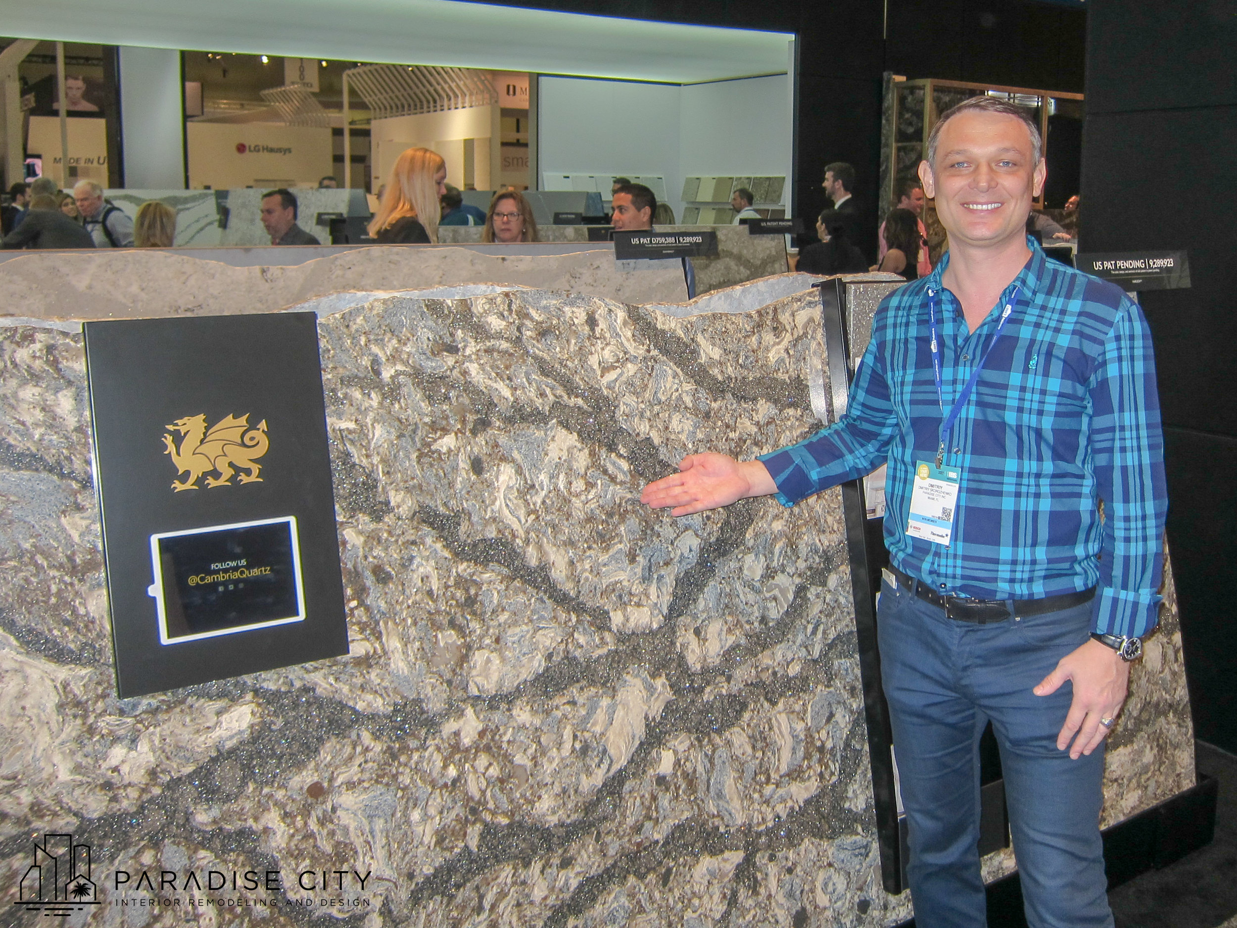 Dmitriy on kitchen and bath INTERNATIONAL show 2016 orlando