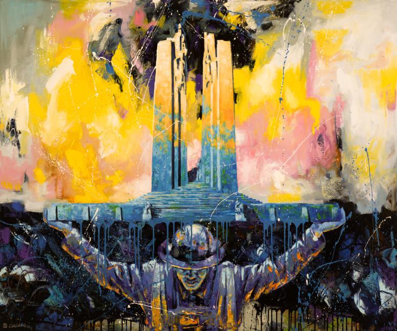 "Resurrection (60"" x 72"")"