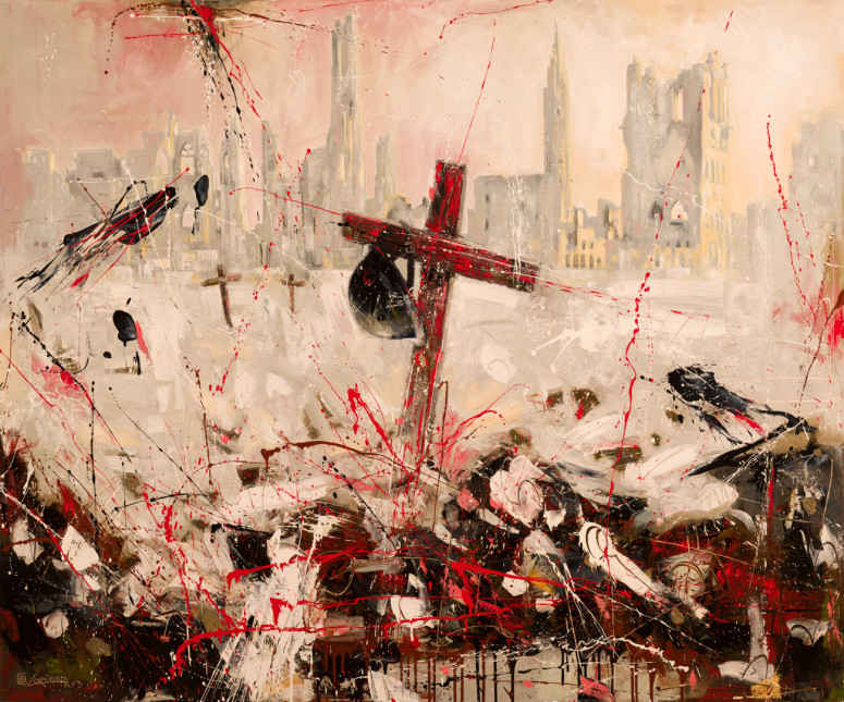 """Hell's Grave (60"""" x 72"""")"""