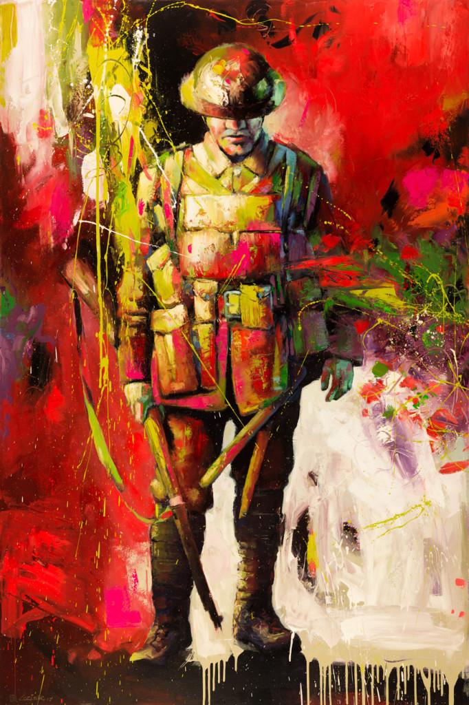 """Unknown Soldier (72"""" x 48"""")"""