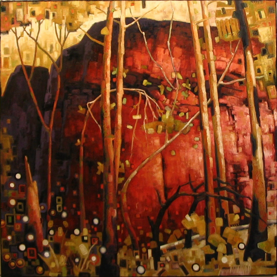 """Red Rock (60"""" x 60"""")"""