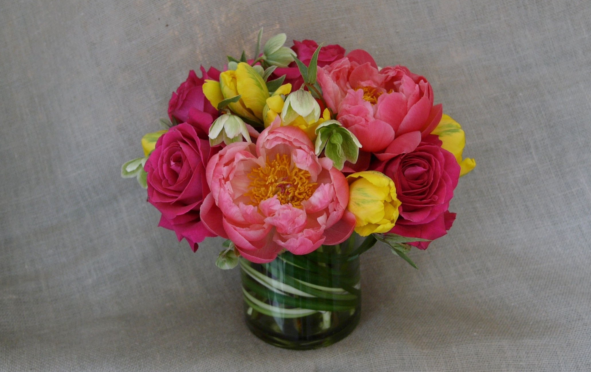 coral charm peonies with roses and tulips.jpg