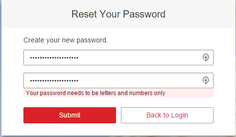 """And then why must my password be """"letters and numbers only""""? Just take whatever I type in and hash it.... you are sanitizing the input, right? Right?"""